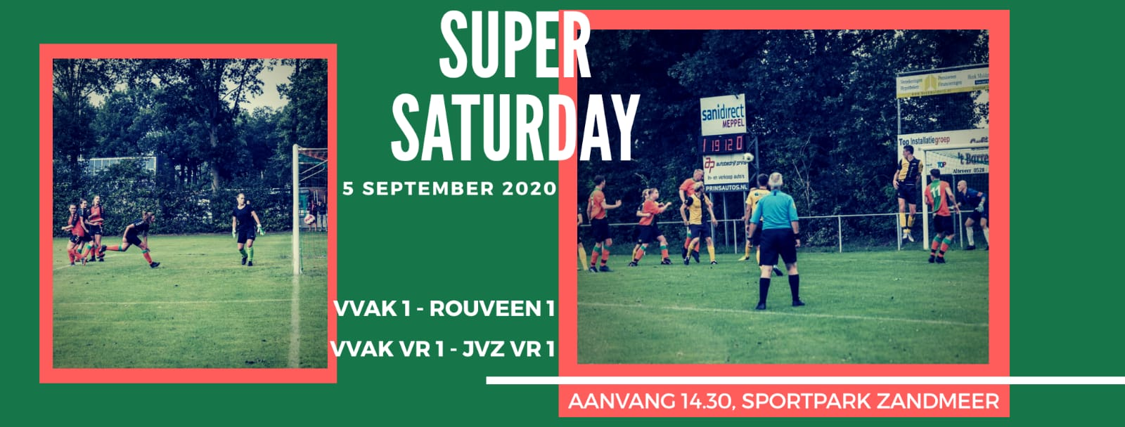 Registratie Super Saturday (5 sept)